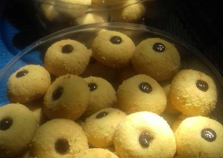 Resep Monde cookies eggless