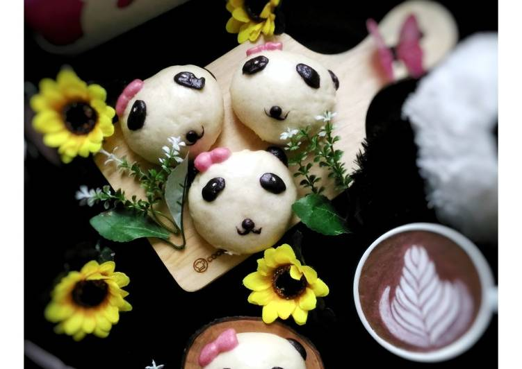 Resep Panda Pao (Pao Karakter)
