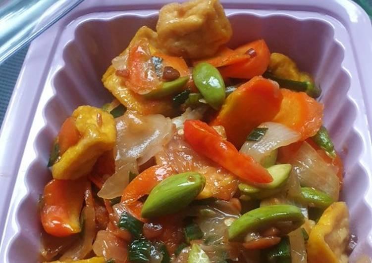 Resep Pete Tahu masak tauco