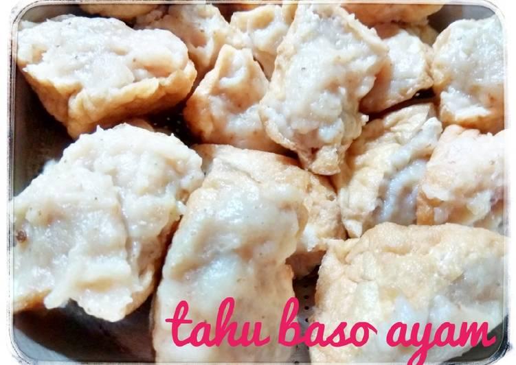 Resep Tahu Baso Ayam