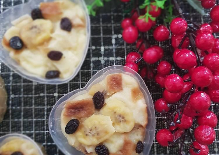 Resep Banana Bread Pudding