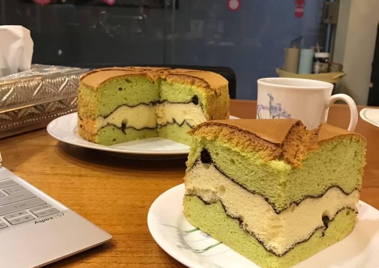 Resep Topo Map Chiffon Cake