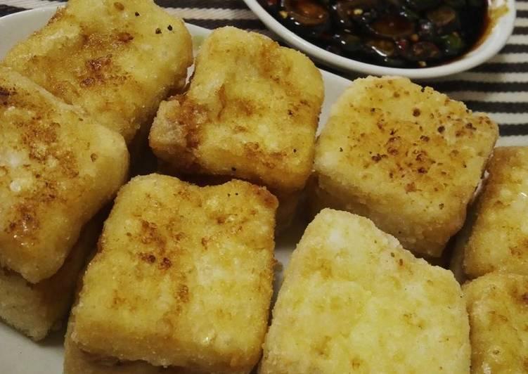 Resep Tahu goreng crispy