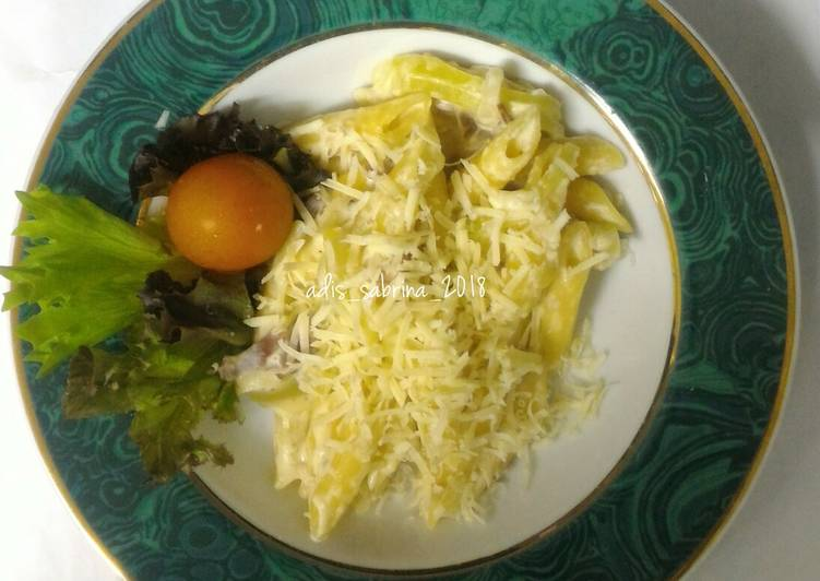 Resep Penne and cheese