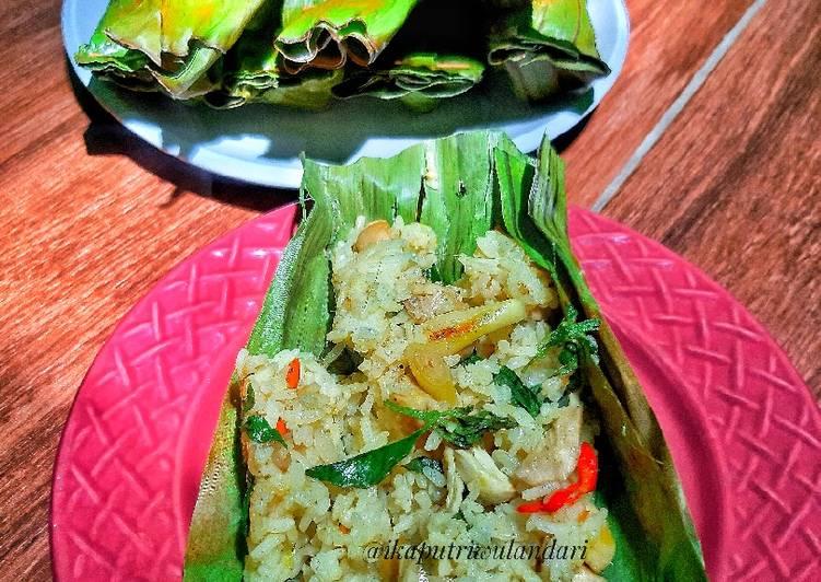 Resep Nasi Bakar Jamur