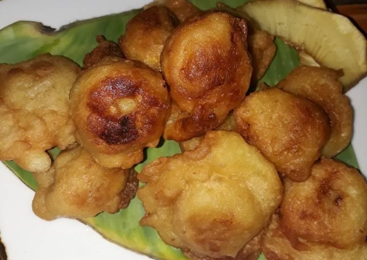 Resep Nangka cimpedak goreng