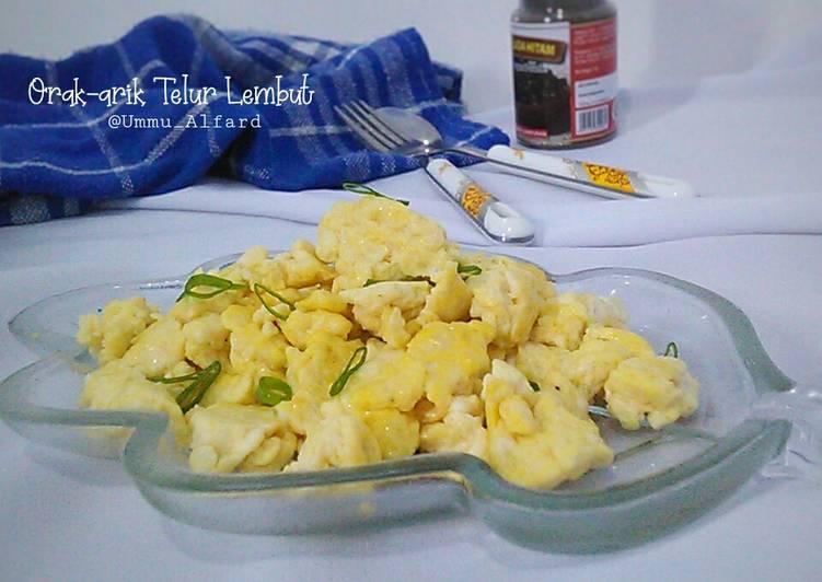 Resep Orak-arik Telur Lembut