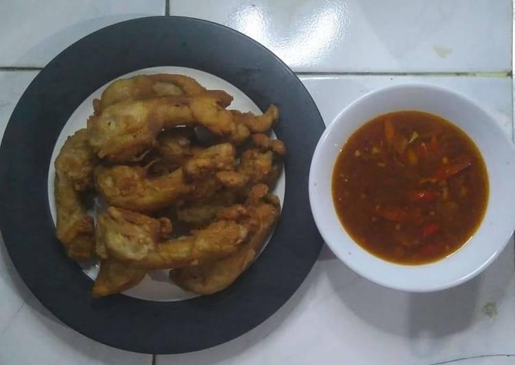 Resep Kepala Ayam Goreng Saus Spaghetti Bolognese