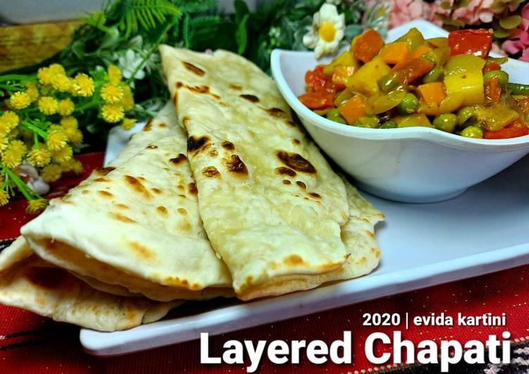 Resep Layered Chapati