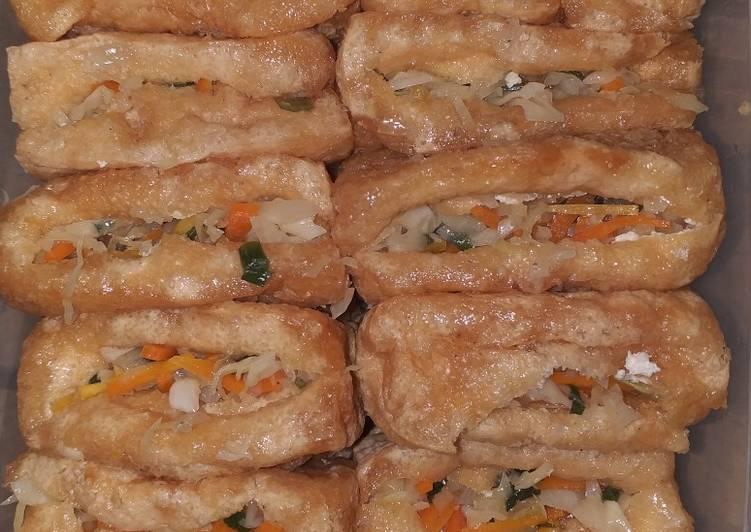 Resep Tahu pong isi sayuran