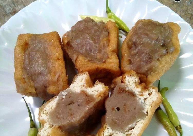 Resep Tahu Bakso khas Semarang