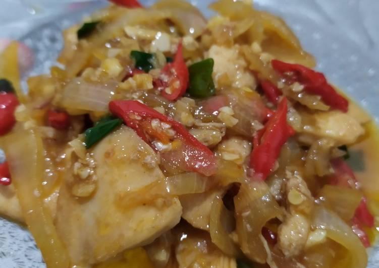 Resep Ayam Fillet Mentega
