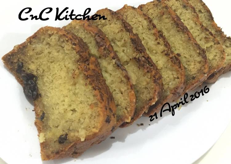 Resep Banana Cake