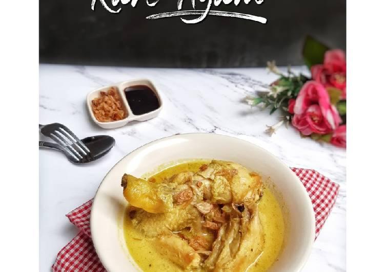Resep Kare Ayam
