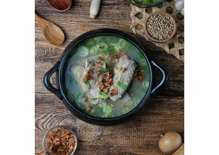 Resep Sup Ayam / Sop Ayam Kampung