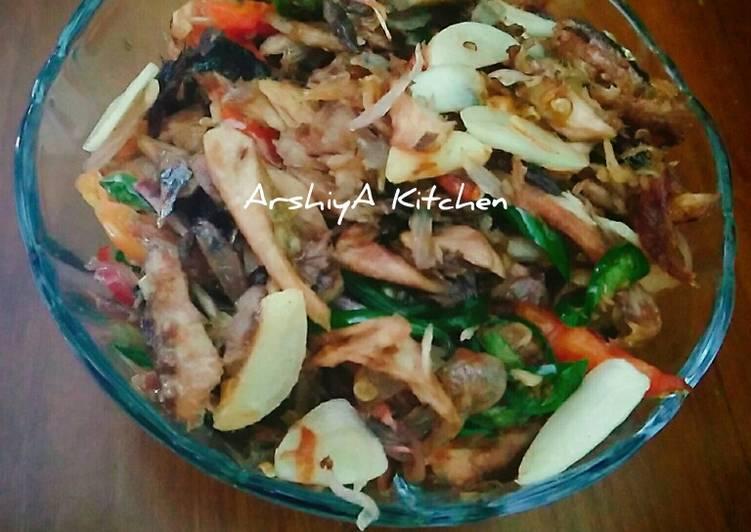Resep Tumis Ikan Tongkol suir