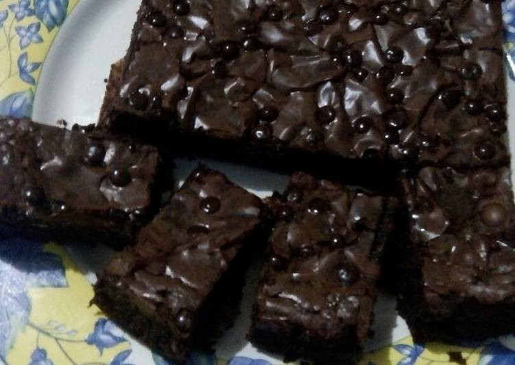 Resep Chewy bownies