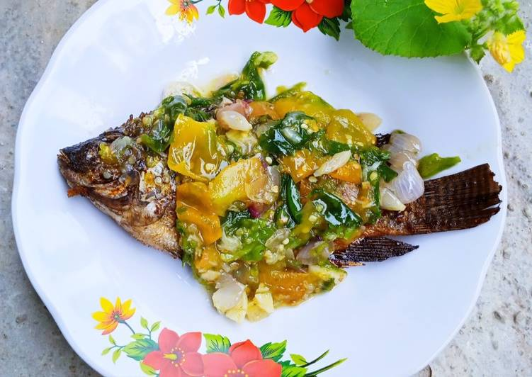 Resep Ikan Mujair Sambal Ijo