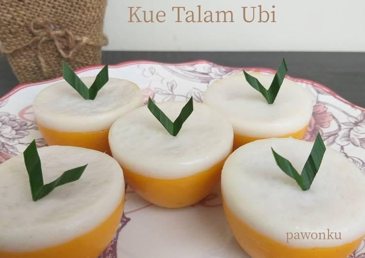 Resep 454.Kue Talam Ubi