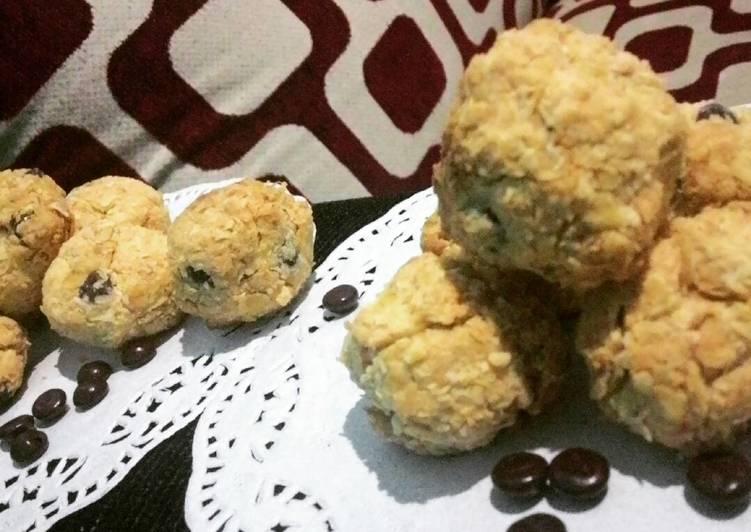 Resep Coconut oatmeal kukis