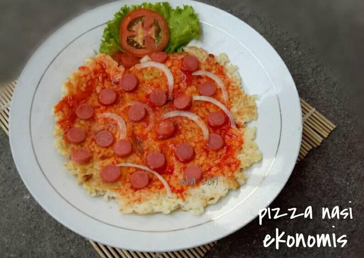 Resep Pizza Nasi ekonomis