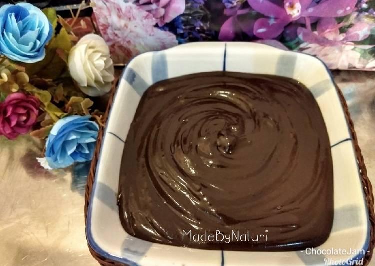 Resep 21.2019.Chocolate Jam Homemade