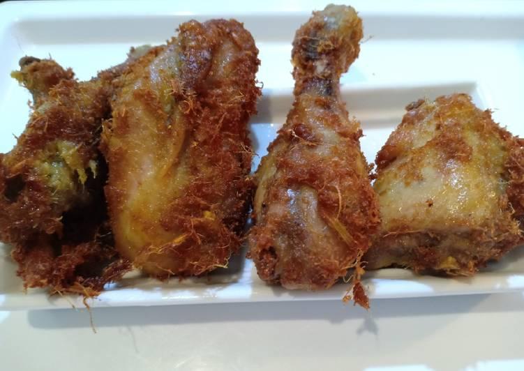 Resep (Seri Ayam) Ayam Goreng Renyah Empuk me