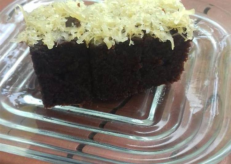 Resep Cake coklat eggless #PR2_Bolu
