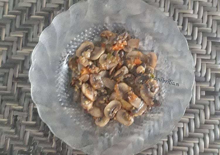 Resep Tumis jamur doweerr enak simpel
