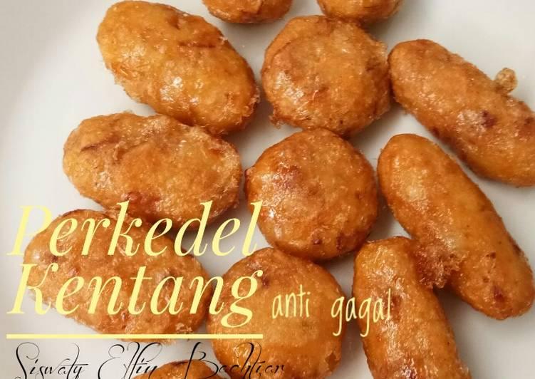 Resep Perkedel kentang Anti Gagal