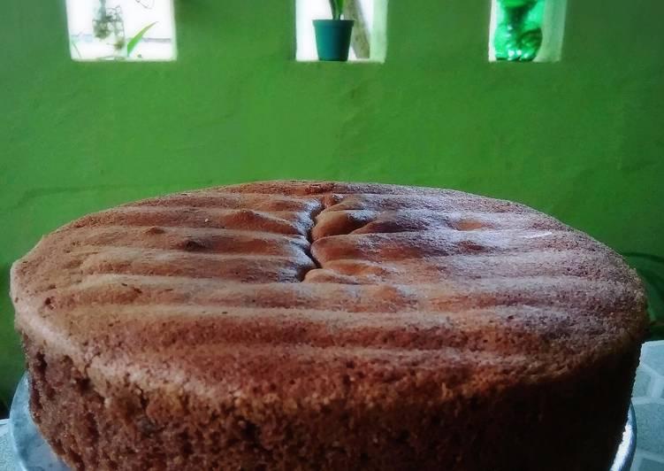 Resep Bolu cokelat hemat (2telor)
