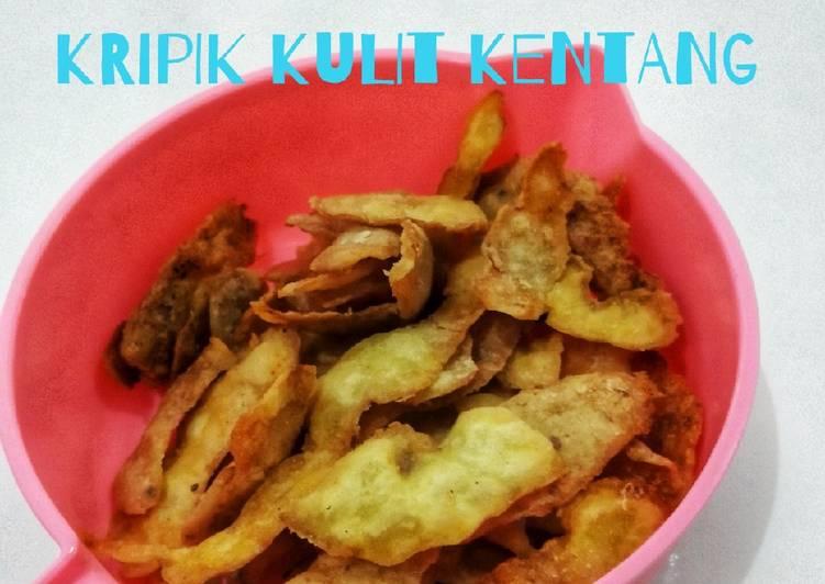 Resep Kripik kulit kentang