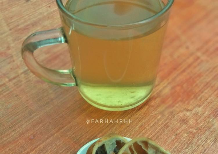 Resep Black Lime Tea / Loomi Tea ( )