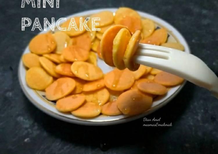 Resep Mini pancake