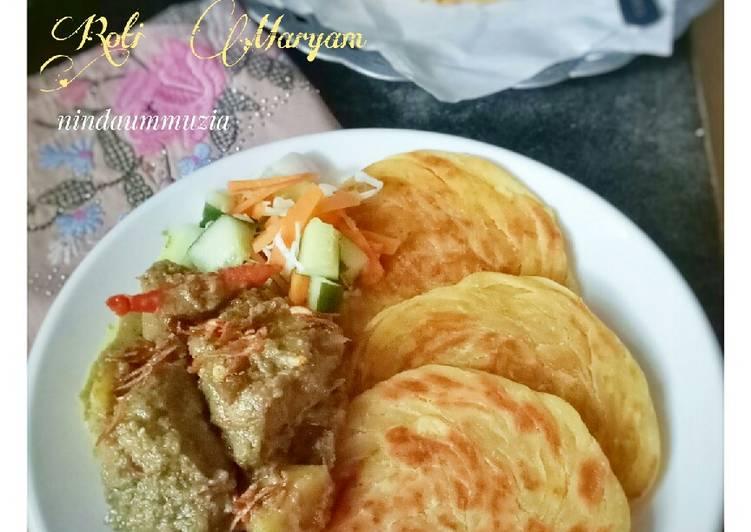 Resep Roti Maryam/Roti Cane