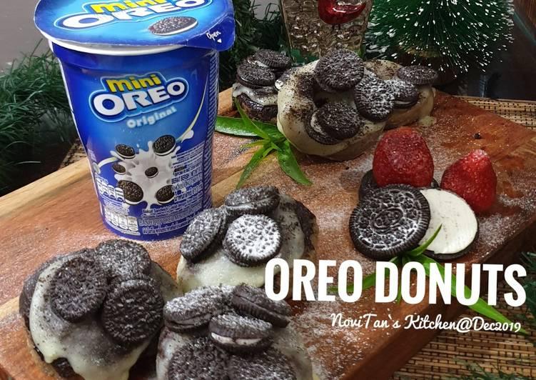 Resep Oreo Donuts