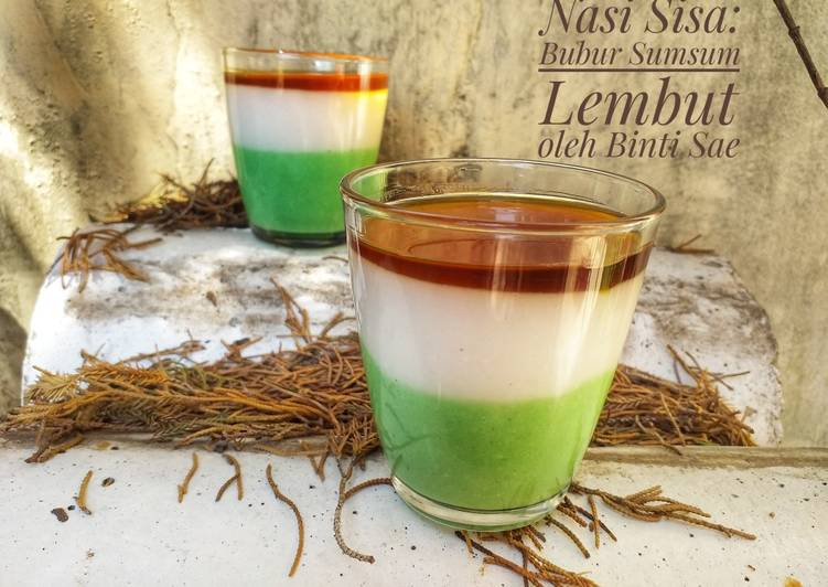 Resep Nasi Sisa: Bubur Sum-Sum Lembut