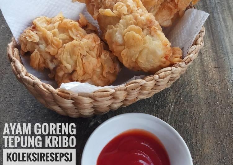 Resep Ayam goreng tepung kribo
