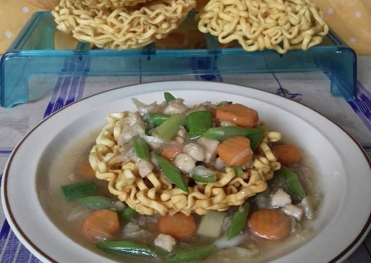 Resep Ifue mie ayam sayur #Bandung_RecookDiahAyu