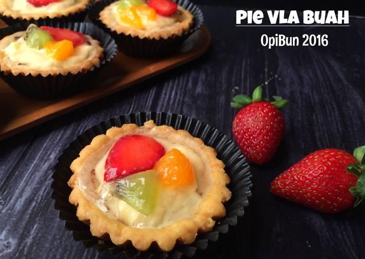 Resep Pie Vla Buah