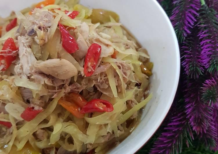 Resep Oseng Pepaya Ayam Suwir