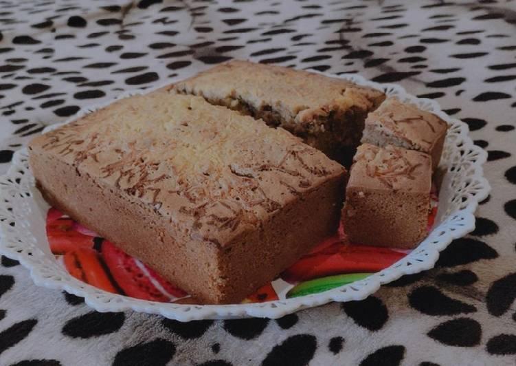 Resep Bolu coklat keju