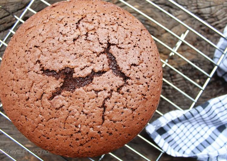 Resep Sponge Cake Coklat No Sp (kempus