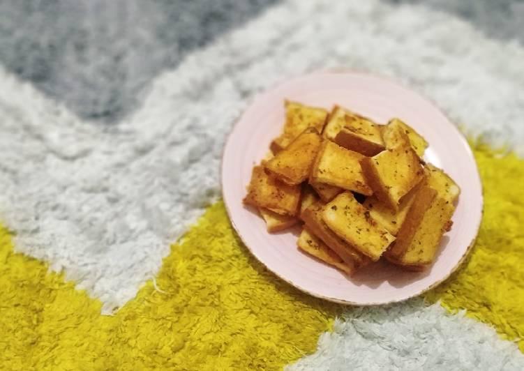 Resep Crunchy Garlic Bread