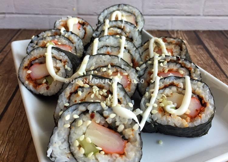 Resep Crabstick Sushi!