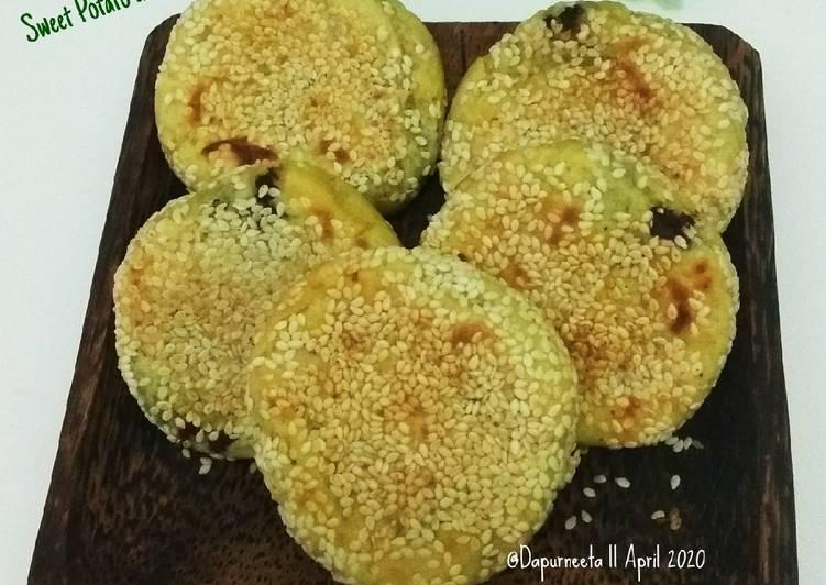 Resep Sweet potato and Sesame ayako