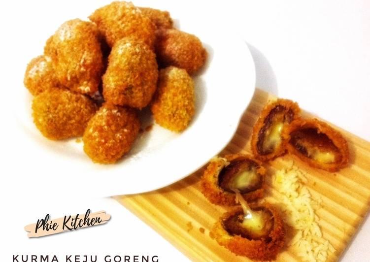 Resep Kurma Keju Goreng - Crispy ngeju #18