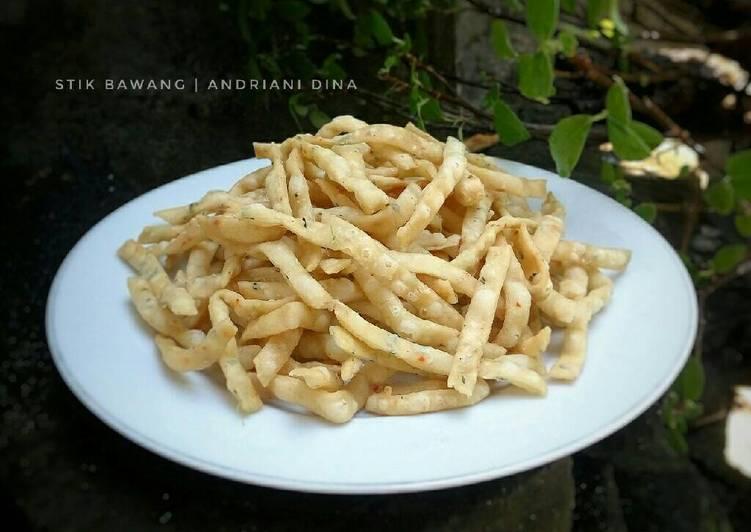 Resep Stik Bawang Simple Crispy