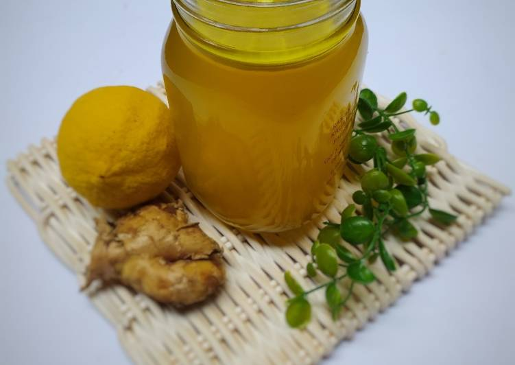 Resep Minuman herbal