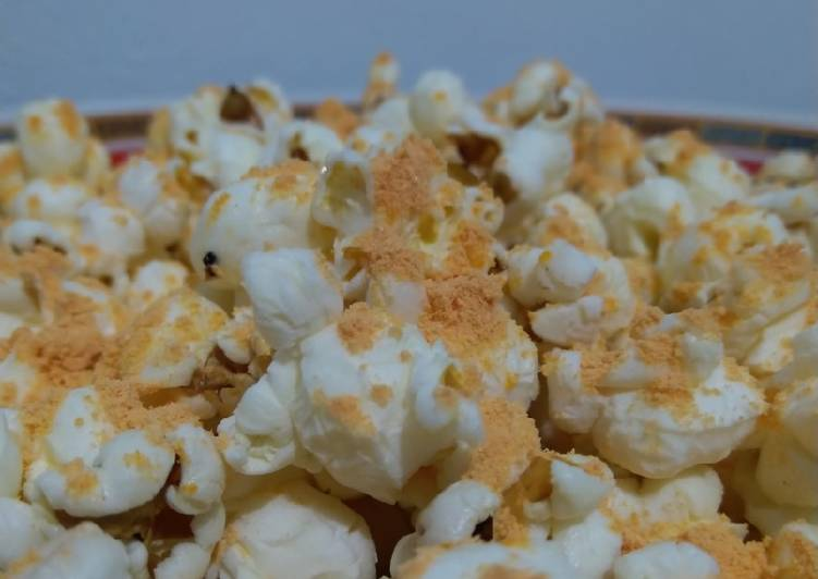 Resep Popcorn anti gagal